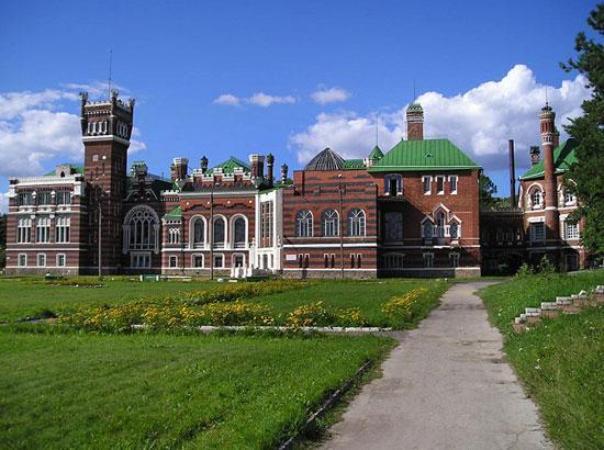 Знаменитые замки Нижегородской области